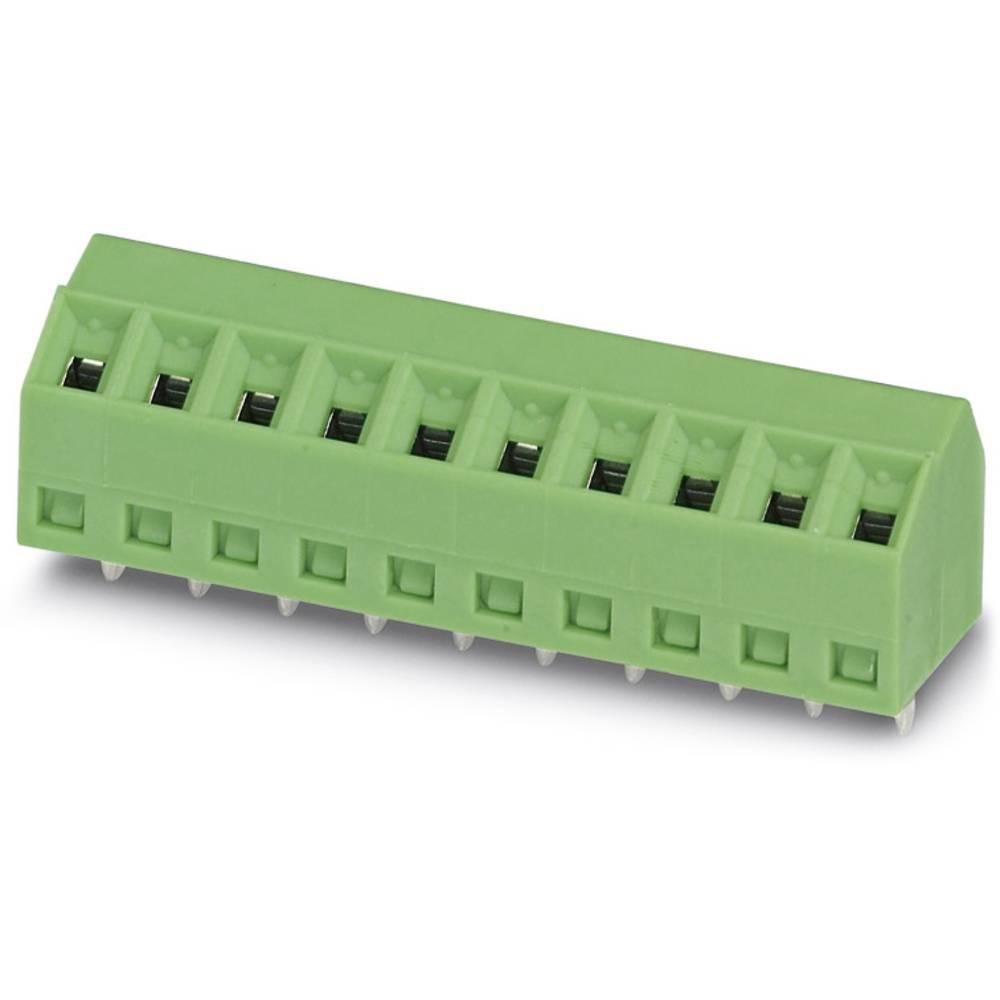 Skrueklemmeblok Phoenix Contact SMKDS 1/ 6-3,81 1.00 mm² Poltal 6 Grøn 100 stk