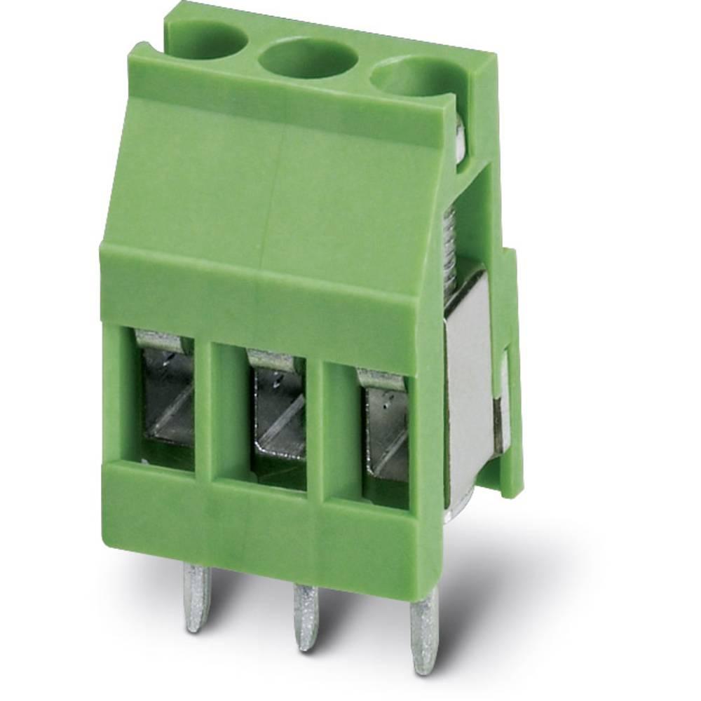Skrueklemmeblok Phoenix Contact MKDS 3/ 3-EMG 15 2.50 mm² Poltal 3 Grøn 50 stk