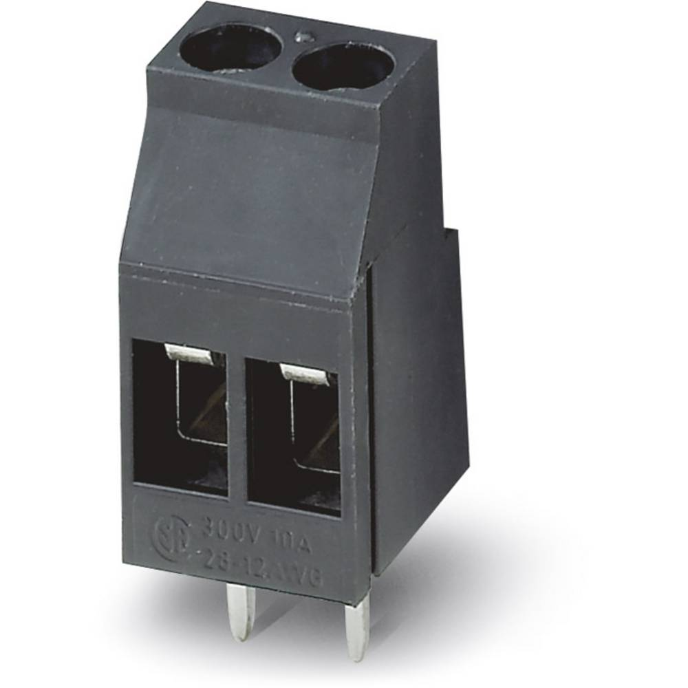 Skrueklemmeblok Phoenix Contact MKDS 3/ 2-5,08 HT BK 2.50 mm² Poltal 2 Sort 50 stk