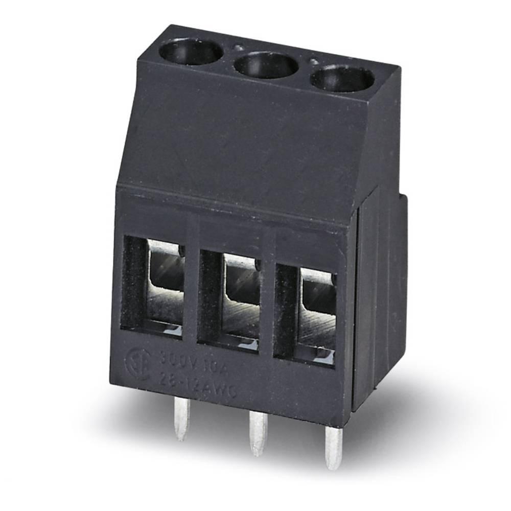 Skrueklemmeblok Phoenix Contact MKDS 3/ 2-B-5,08 BK 2.50 mm² Poltal 2 Sort 50 stk