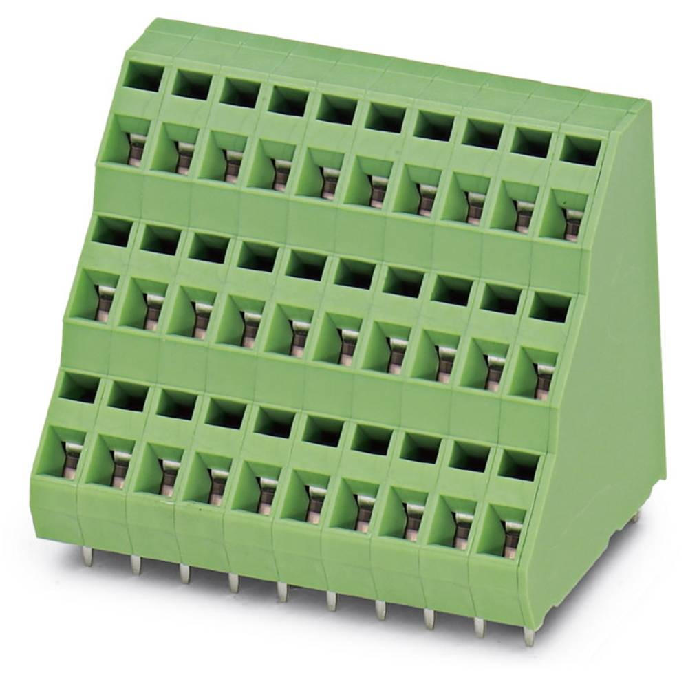 Tre-etagesklemme Phoenix Contact ZFK3DS 1,5-5,08 1.50 mm² Poltal 3 Grøn 100 stk