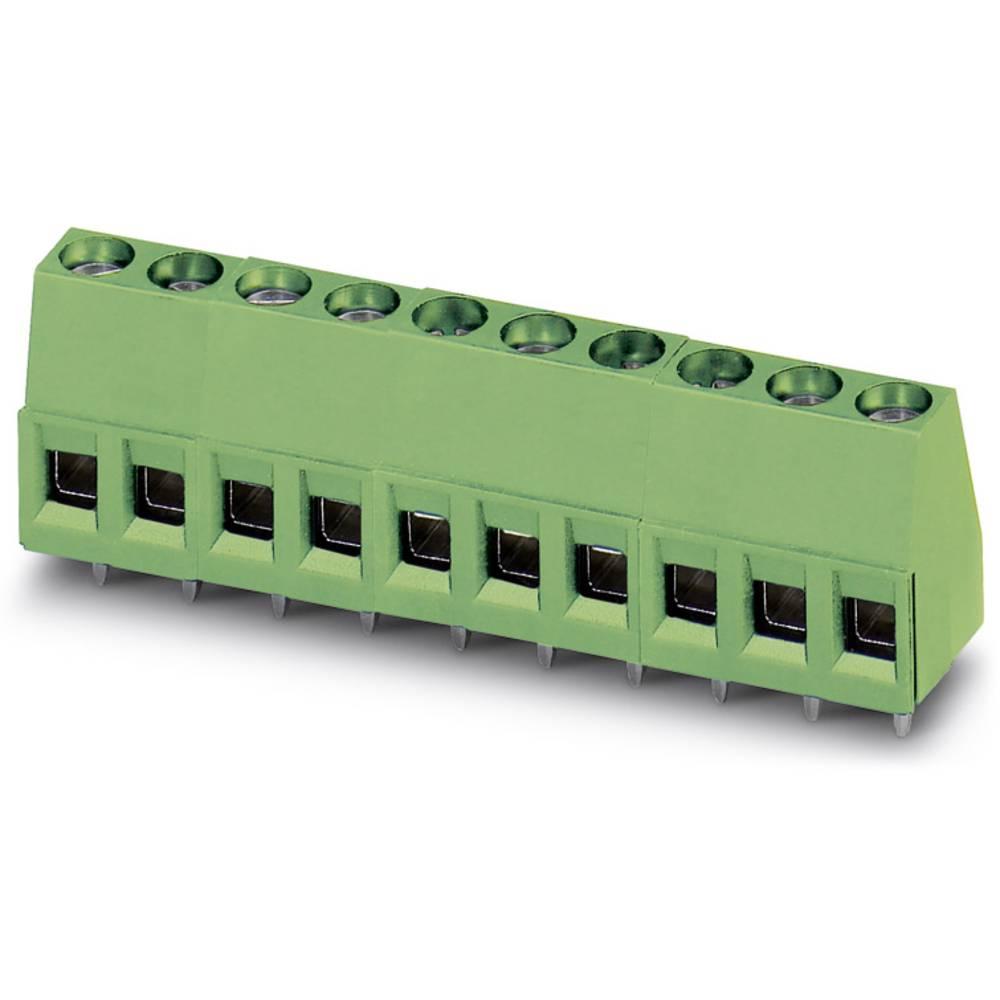 Skrueklemmeblok Phoenix Contact MKDS 1,5/ 6-5,08 1.50 mm² Poltal 6 Grøn 50 stk