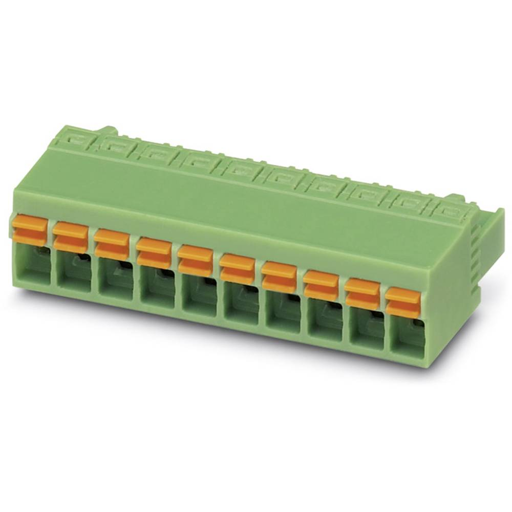 Tilslutningskabinet-kabel FKCN (value.1360734) Samlet antal poler 5 Phoenix Contact 1732771 Rastermål: 5 mm 50 stk