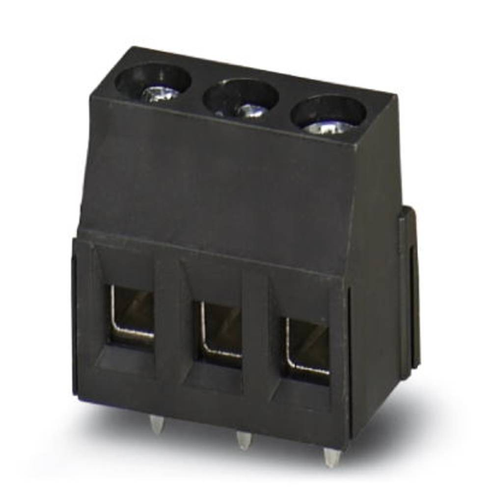 Skrueklemmeblok Phoenix Contact MKDSN 2,5/ 3 HT BK 2.50 mm² Poltal 3 Sort 50 stk