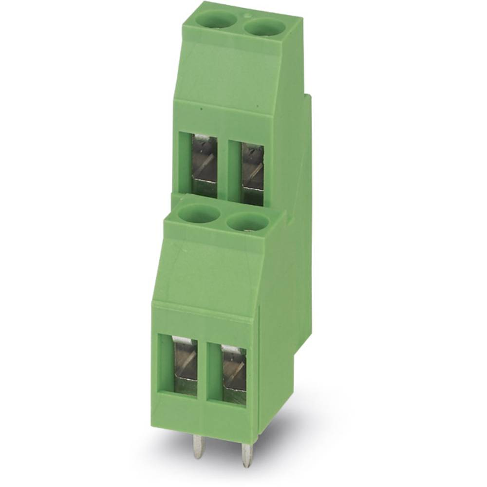Dobbeltrækkeklemme Phoenix Contact MKKDS 3/ 3 2.50 mm² Poltal 6 Grøn 50 stk