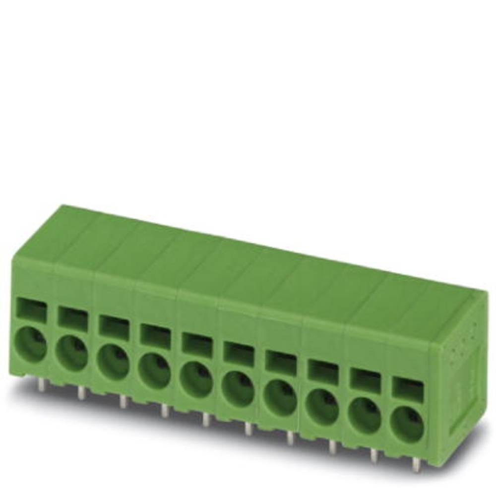 Fjederkraftsklemmeblok Phoenix Contact SPT 2,5/ 3-H-5,0 2.50 mm² Poltal 3 Grøn 100 stk