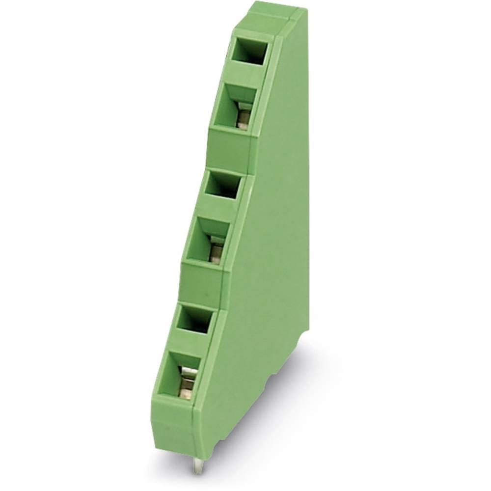 Tre-etagesklemme Phoenix Contact ZFK3DSA 1,5-6,08 1.50 mm² Poltal 3 Grøn 250 stk