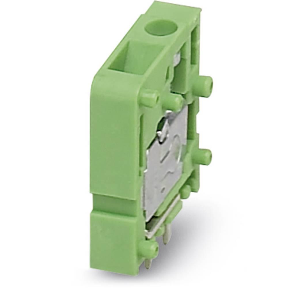 Skrueklemmeblok Phoenix Contact FRONT 2,5-V/SA 5 2.50 mm² Poltal 1 Grøn 50 stk
