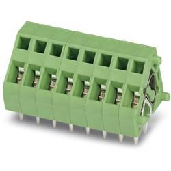 Fjederkraftsklemmeblok Phoenix Contact ZFKDS 1-3,81 1.00 mm² Poltal 1 Grøn 50 stk