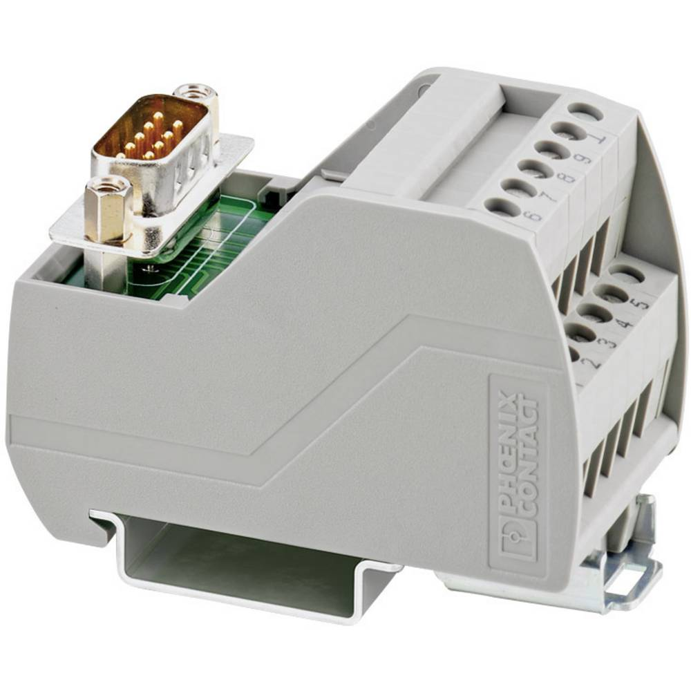 VIP-2/SC/D 9SUB/F - Prenosni modul VIP-2/SC/D 9SUB/F Phoenix Contact vsebina: 1 kos