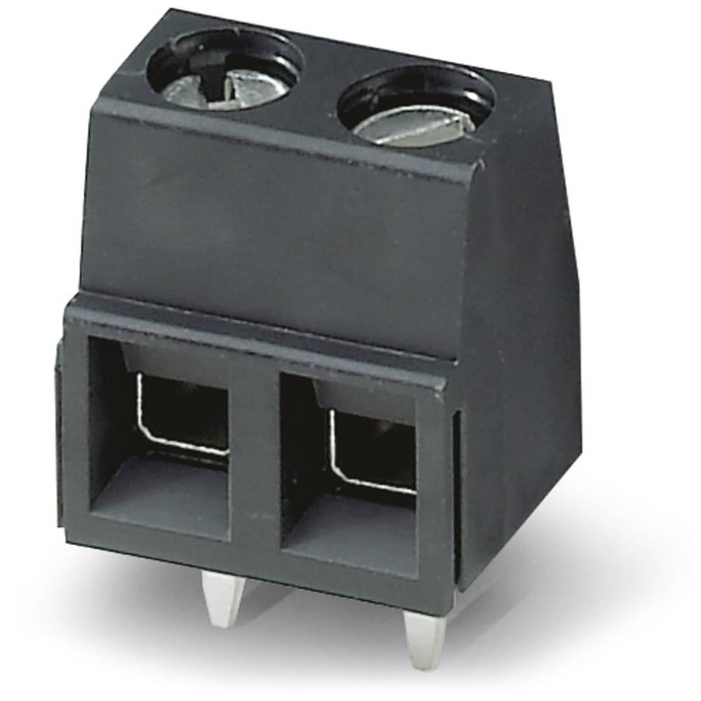 Skrueklemmeblok Phoenix Contact MKDSN 1,5/ 3 HT BK 1.50 mm² Poltal 3 Sort 50 stk