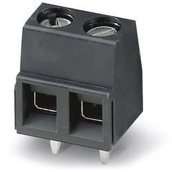 Skrueklemmeblok Phoenix Contact MKDSN 1,5/ 2 HT BK 1.50 mm² Poltal 2 Sort 50 stk