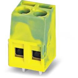 Skrueklemmeblok Phoenix Contact MKDS 1,5/ 3-B-5,08 GNYE 1.50 mm² Poltal 3 Grøn-gul 50 stk