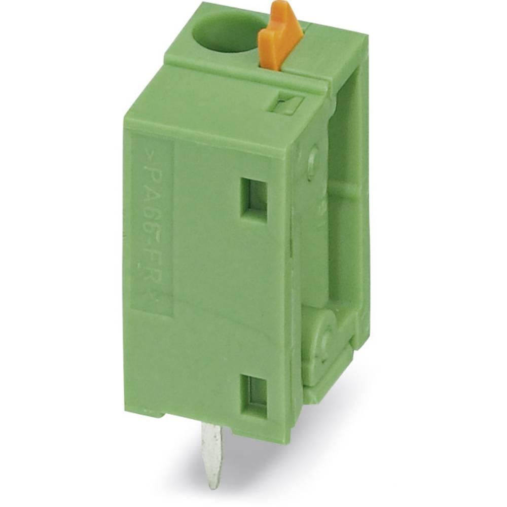 Fjederkraftsklemmeblok Phoenix Contact FFKDSA1/V2-7,62 1.50 mm² Poltal 1 Grøn 250 stk