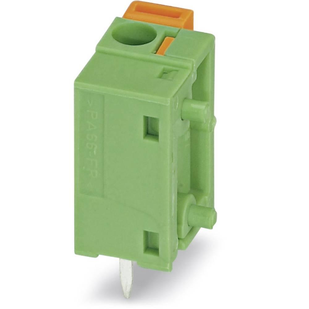 Fjederkraftsklemmeblok Phoenix Contact FFKDSA/V1-7,62 1.50 mm² Poltal 1 Grøn 250 stk