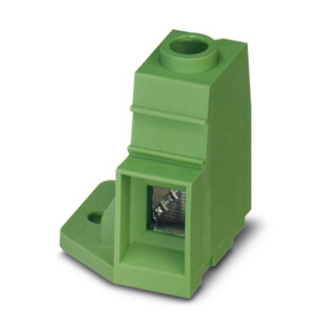 Skrueklemmeblok Phoenix Contact MKDSP 25/ 1-15,00-FL 35.00 mm² Poltal 1 Grøn 25 stk