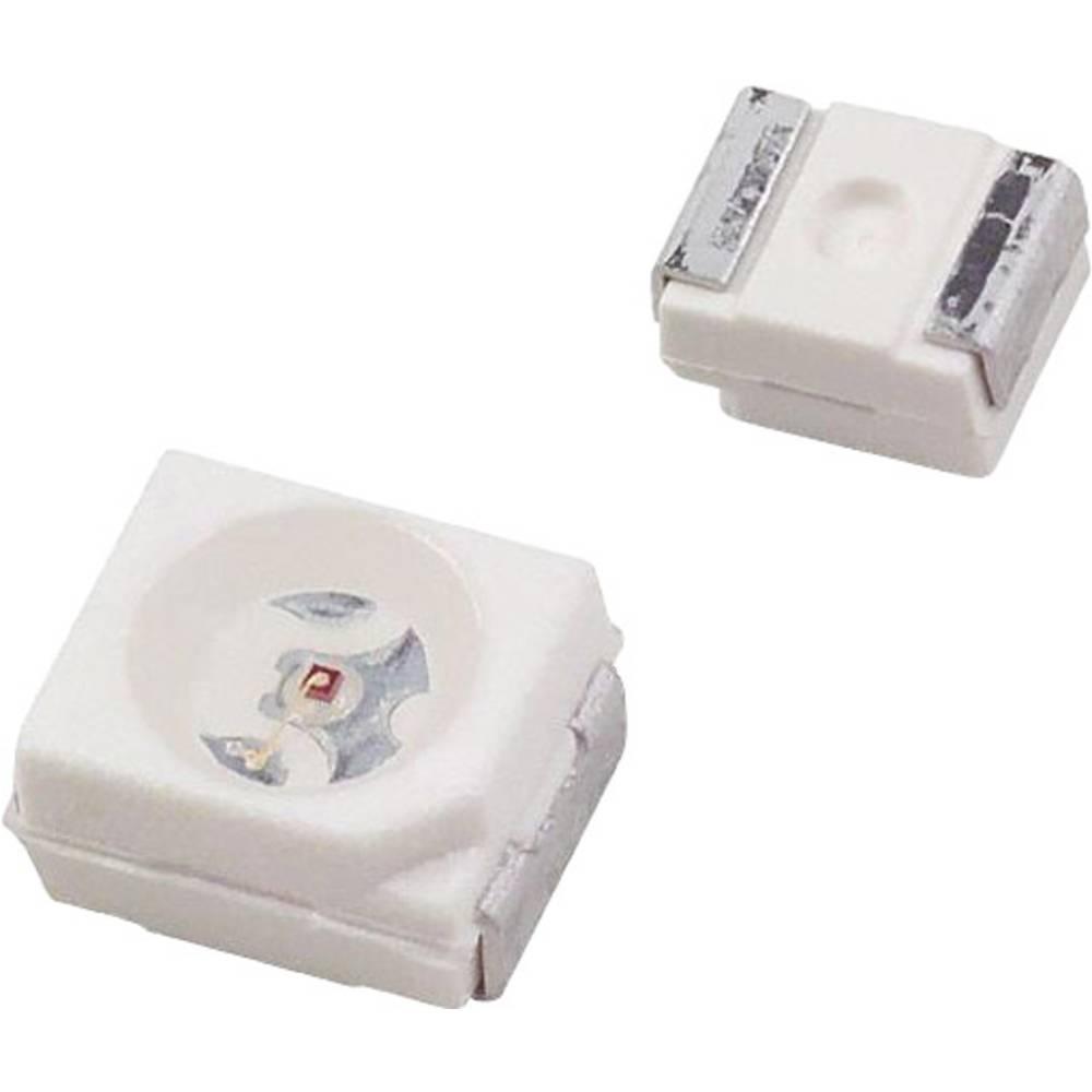 SMD-LED (value.1317393) Dialight 597-3601 -202F PLCC2 11.15 mcd 120 ° Blå