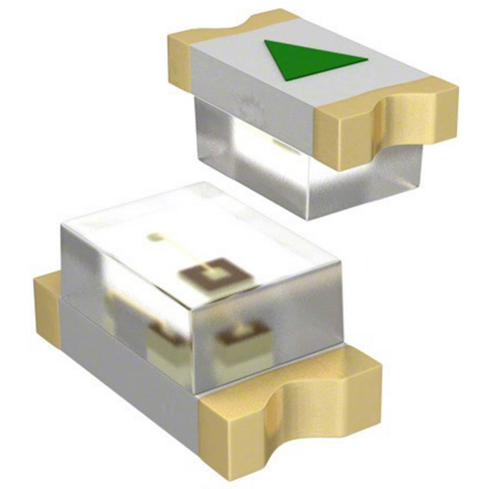 SMD-LED (value.1317393) Dialight 598-8070 -102F 1608 20 mcd 140 ° Grøn