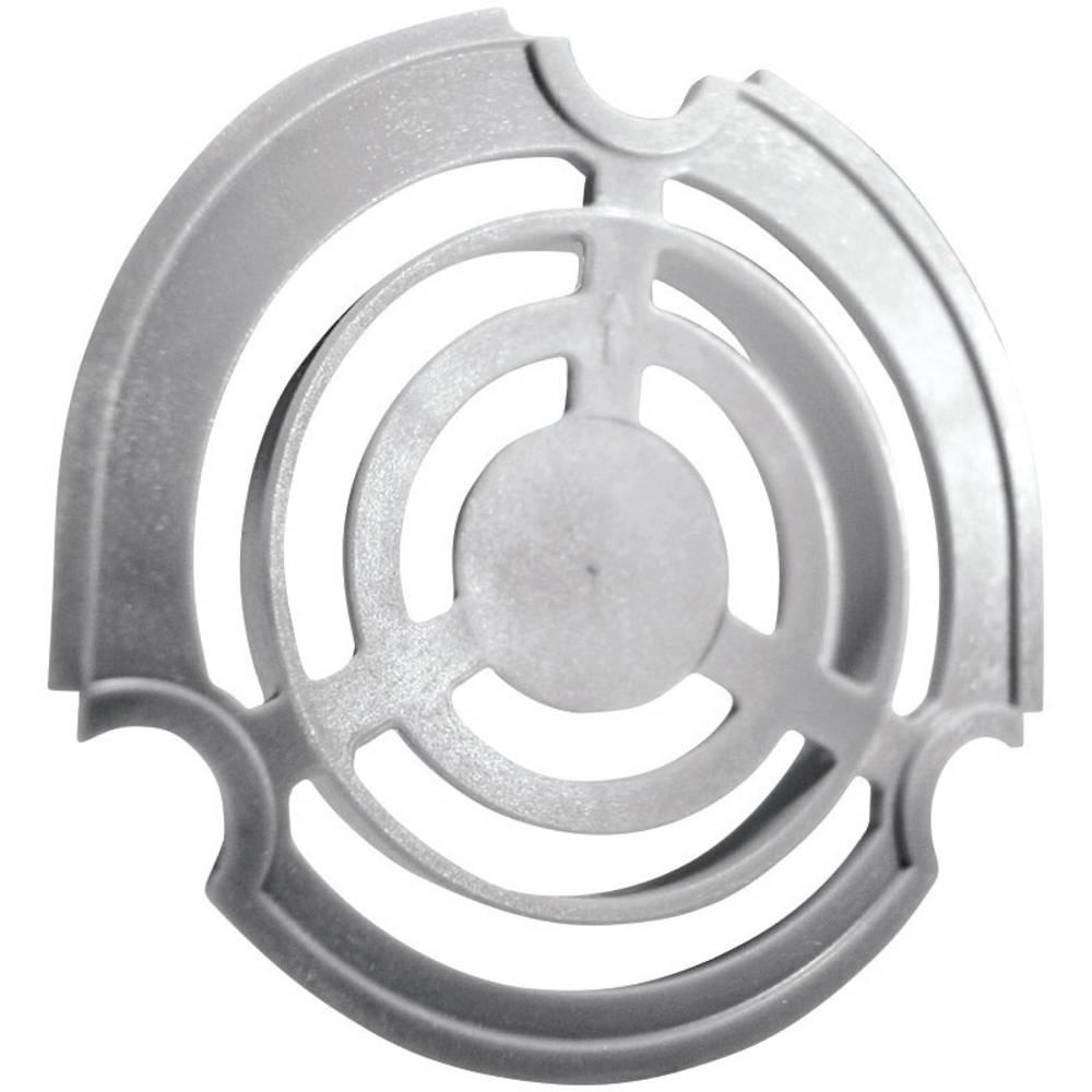 Ventilatorgitter Fibox MB 10858 II 3540858 Plast Lysegrå (RAL 7035) 1 stk