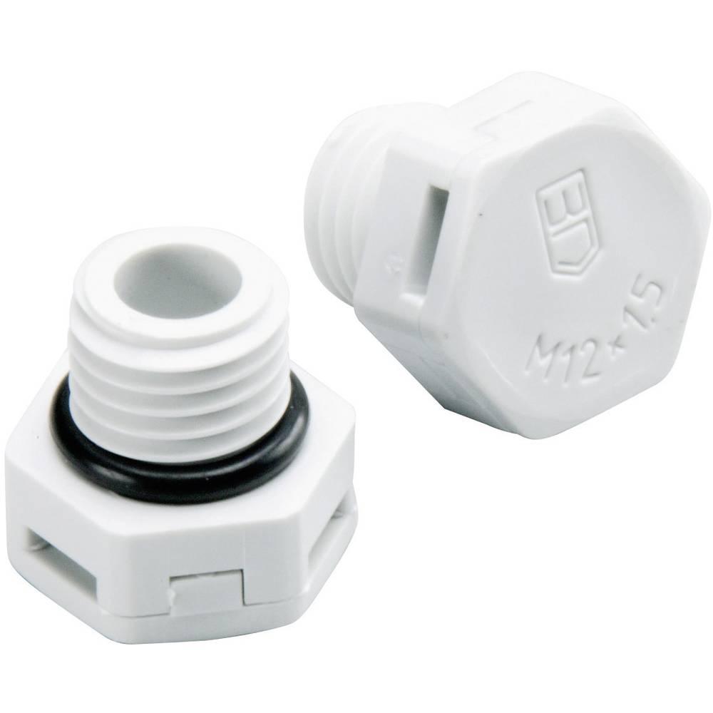 Trykudligningselement Fibox 7016700 Polyamid Lysegrå (RAL 7035) 1 stk