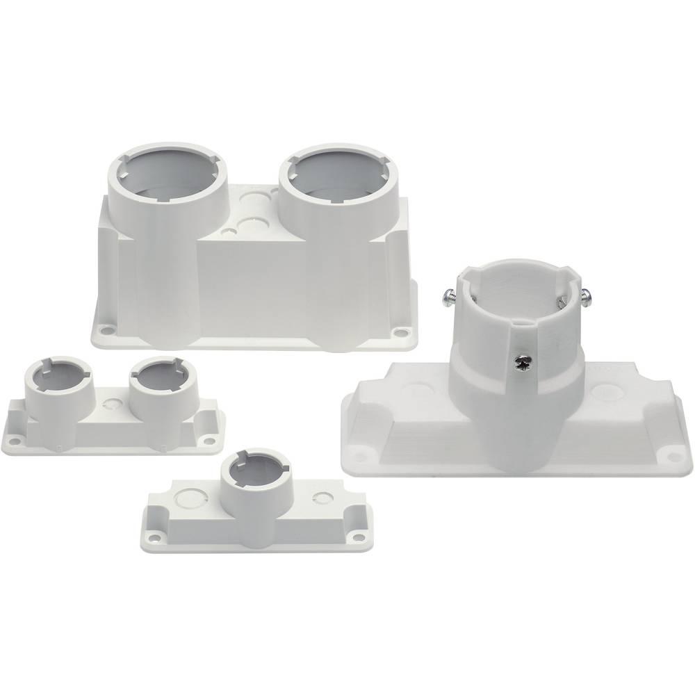 Uvodnica 2-kratna, iz plastike svetlo siva (RAL 7035) Fibox EPA 2260 SET 1 kos