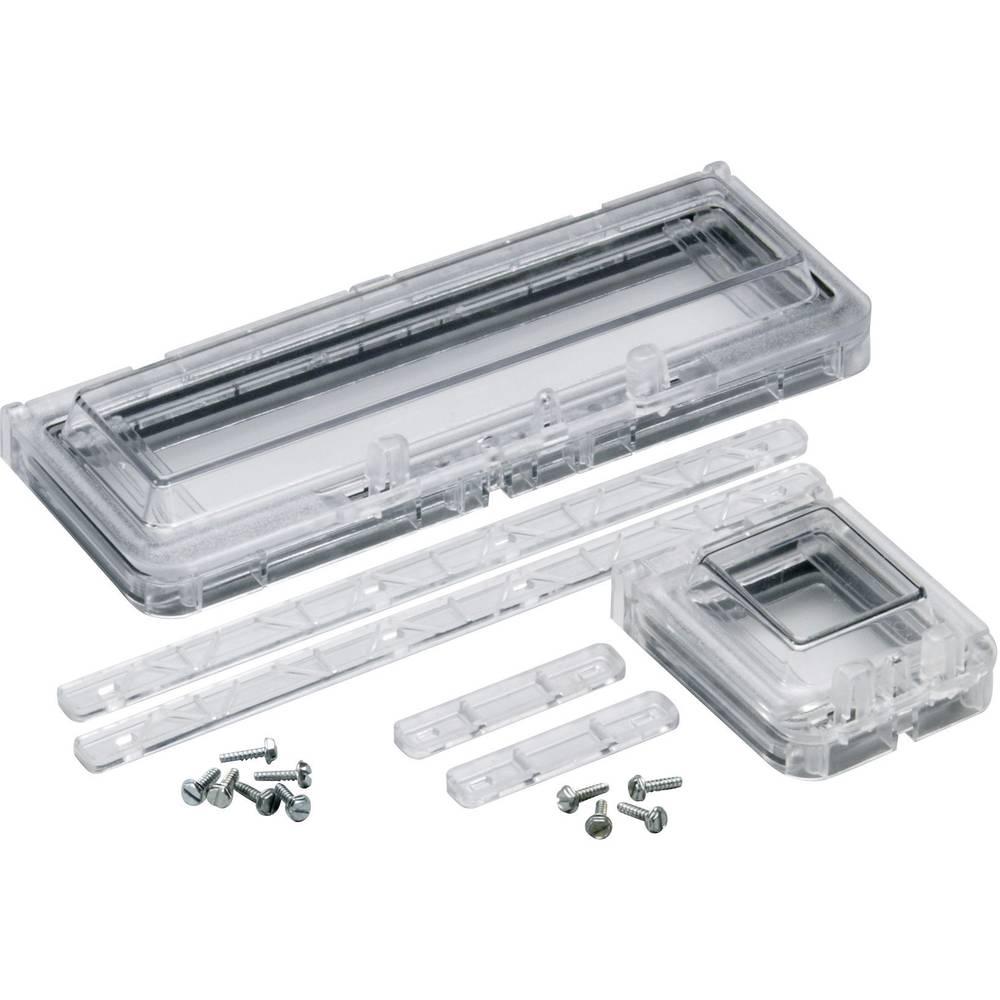 Frontplade Fibox B12 10621-45 Plast Grå 1 stk