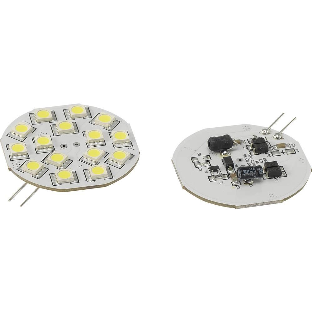 Žarulja Renkforce G4 2.8 W = 15 W dnevno svjetlo-bijelo utično grlo 54.3 mm