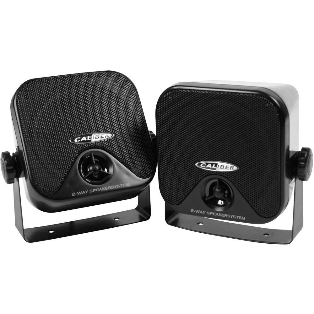 2-sistemski komplet avtomobilskega zvočnika za površinsko pritrditev 80 W Caliber Audio Technology CSB3B