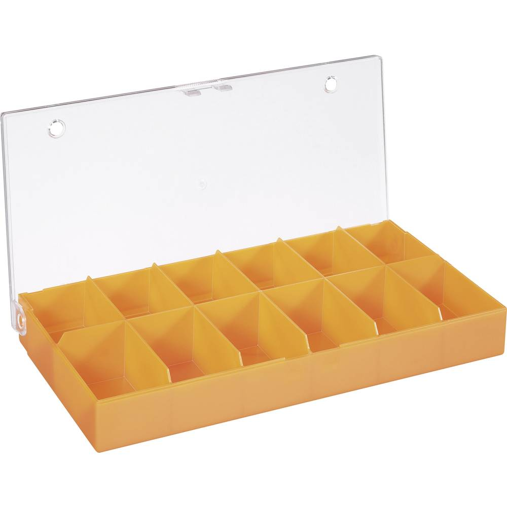 Sortirna škatla (D x Š x V) 194 x 31 x 101 mm št. predalov: 12 fiksna pregraditev
