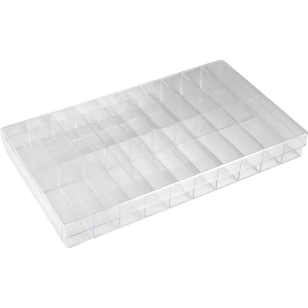 Sortirna škatla (D x Š x V) 355 x 210 x 40 mm št. predalov: 20 fiksna pregraditev