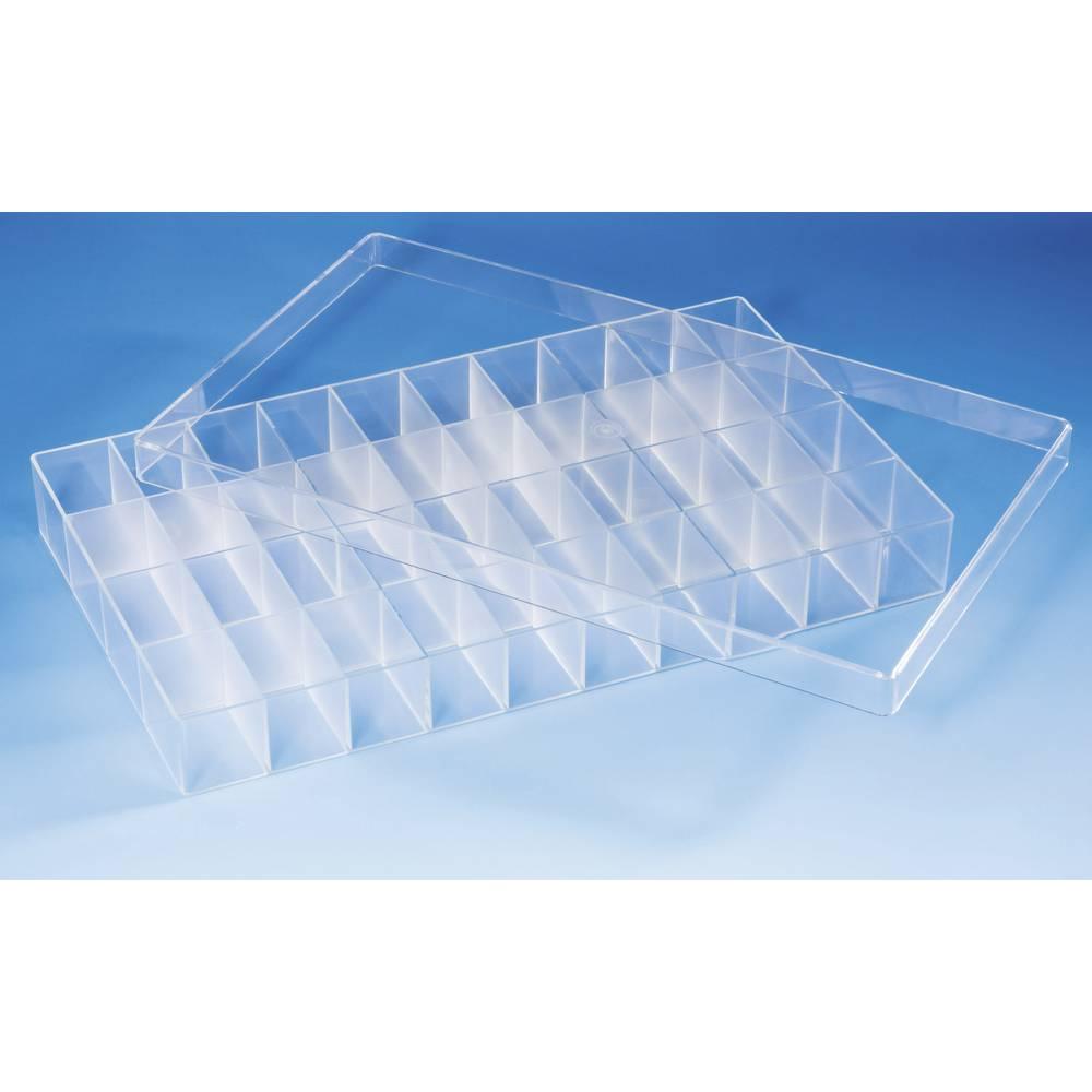 Sortirna škatla (D x Š x V) 358 x 210 x 43 mm št. predalov: 40 fiksna pregraditev