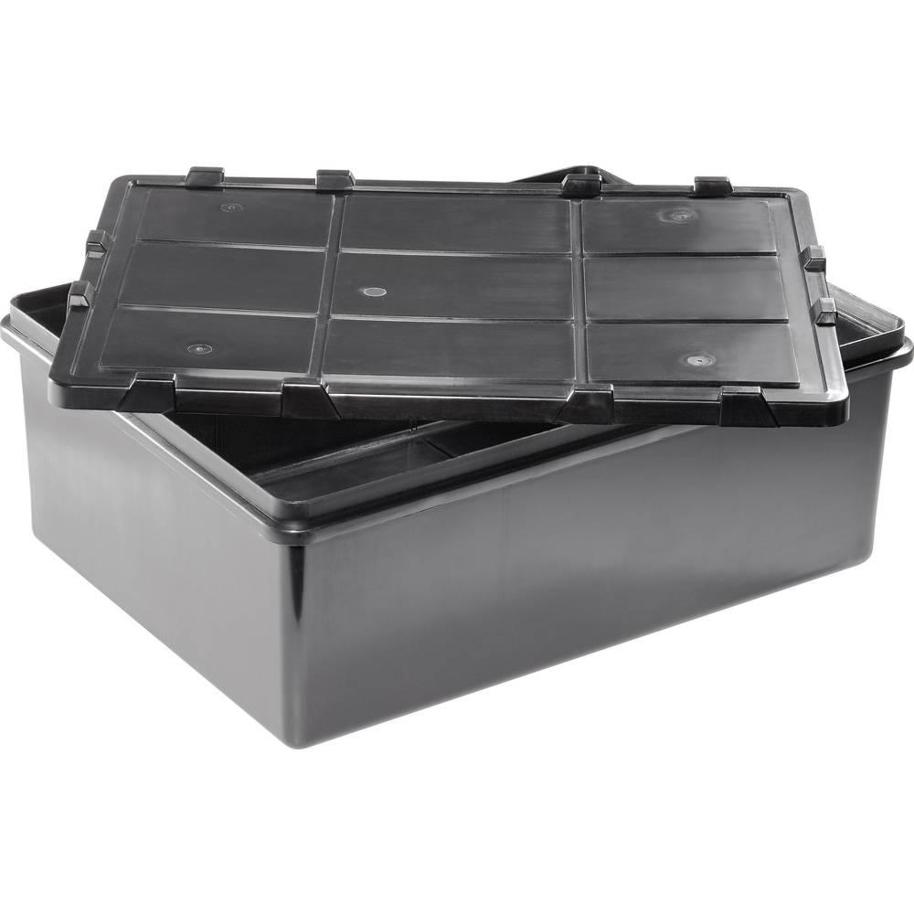 Večnamenska odpremna škatla (D x Š x V) 400 x 300 x 150 mm št. predalov: 1 fiksna pregraditev