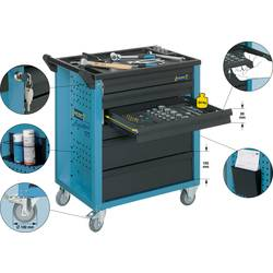 Hazet 177-6 orodje, materijal in montažni voziček