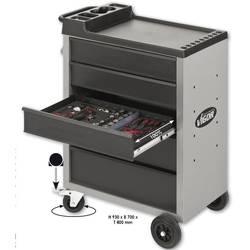 Voziček za delavnico VIGOR 500, 5 predalov Vigor V1252 dimenzije: (Š x V x G) 700 x 930 x 400 mm 49 kg