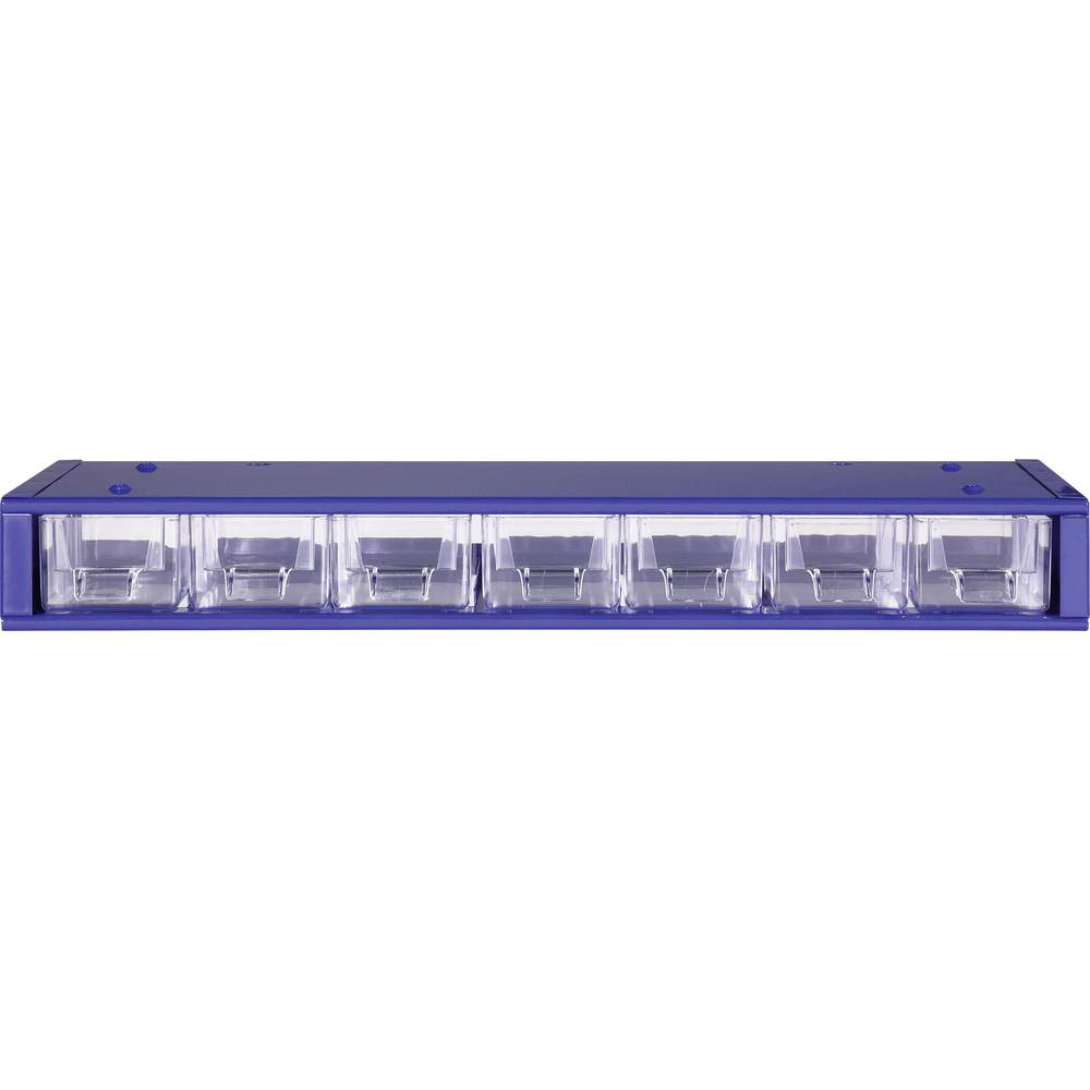 Metal frame 7-Compartment Organiser Box, Component Storage Box, ,