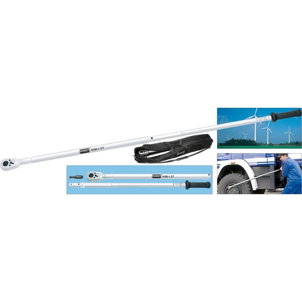 Momentni ključ 20 mm (3/4) sistem 6000 CT 400 - 1000 Nm 3/4 (19 mm) dolžina 1788 mm Hazet 6150-1CT