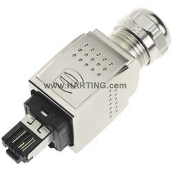 Sensor-/Aktor-datastikforbinder Stik, lige Pol-tal (RJ): 4P4C Harting 09 35 221 0401 1 stk