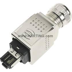 Sensor-/Aktor-datastikforbinder Stik, lige Pol-tal (RJ): 4P4C Harting 09 35 226 0401 1 stk