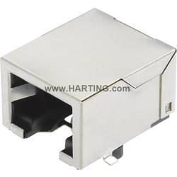 Sensor-/Aktor-datastikforbinder Tilslutning, indbygning Pol-tal (RJ): 8P8C Harting 09 45 551 1110 Han® 3 A RJ45 Hybrid 1 stk