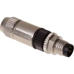 Sensor-, aktuator-stik, M8 Stik, lige Pol-tal (RJ): 3 Harting 21 02 151 1305 HARAX® M8-XS 1 stk