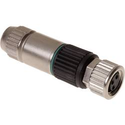 Sensor-, aktuator-stik, M8 Tilslutning, lige Pol-tal (RJ): 3 Harting 21 02 151 2305 HARAX® M8-XS 1 stk