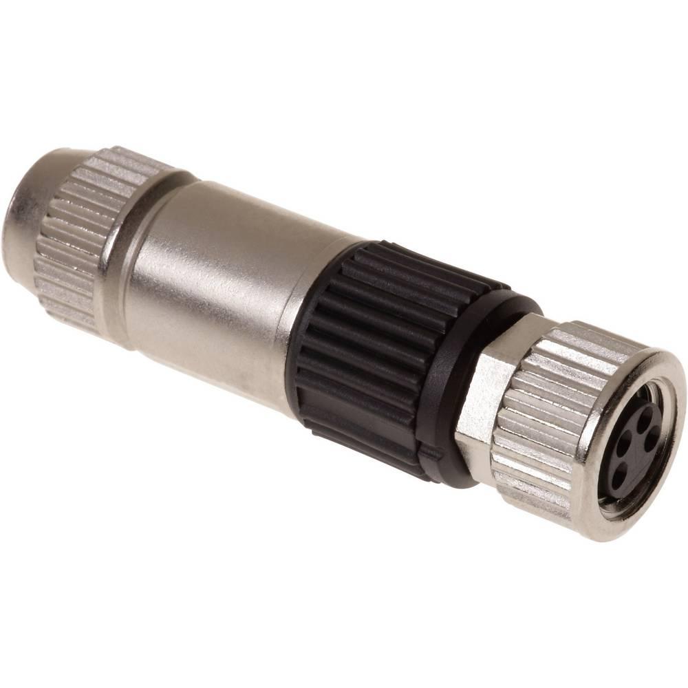 Okrogli vtični konektor, M8 s hitrim priklopom HARAX HARAX® M8-XS Harting vsebuje: 1 kos
