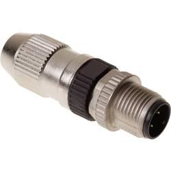 Sensor-, aktuator-stik, M12 Stik, lige Pol-tal (RJ): 4 Harting 21 03 111 1405 HARAX® M12-L 1 stk