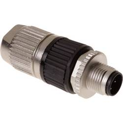 Sensor-, aktuator-stik, M12 Stik, lige Pol-tal (RJ): 3 Harting 21 03 212 1400 HARAX® M12-L 1 stk