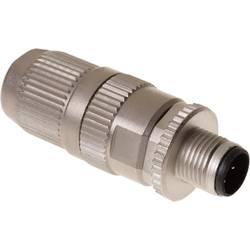 Sensor-, aktuator-stik, M12 Stik, lige Pol-tal (RJ): 4 Harting 21 03 221 1405 HARAX® M12-L 1 stk