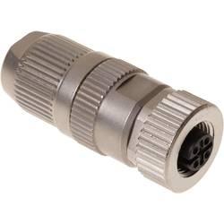 Sensor-, aktuator-stik, M12 Tilslutning, lige Pol-tal (RJ): 4 Harting 21 03 221 2405 HARAX® M12-L 1 stk