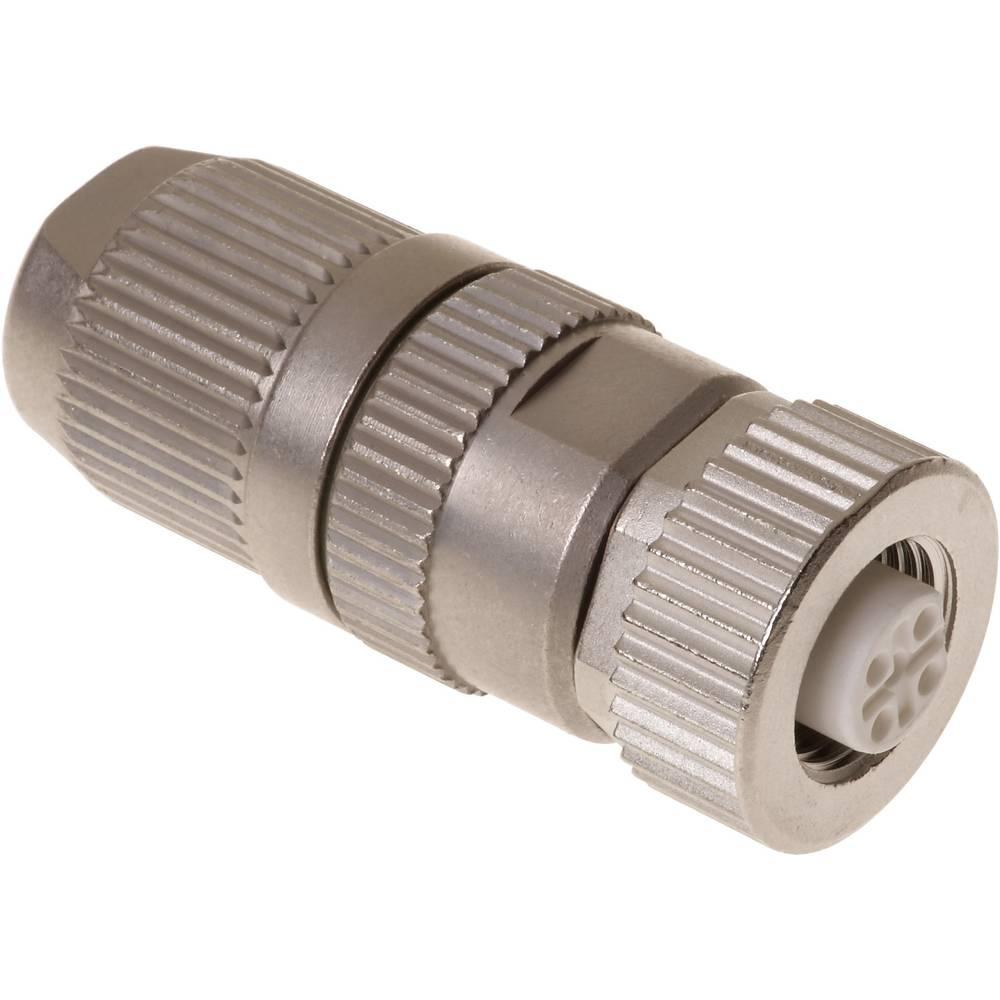 Okrogli vtični konektor, M12 s hitrim priklopom HARAX 21 03 241 2300 Harting vsebuje: 1 kos