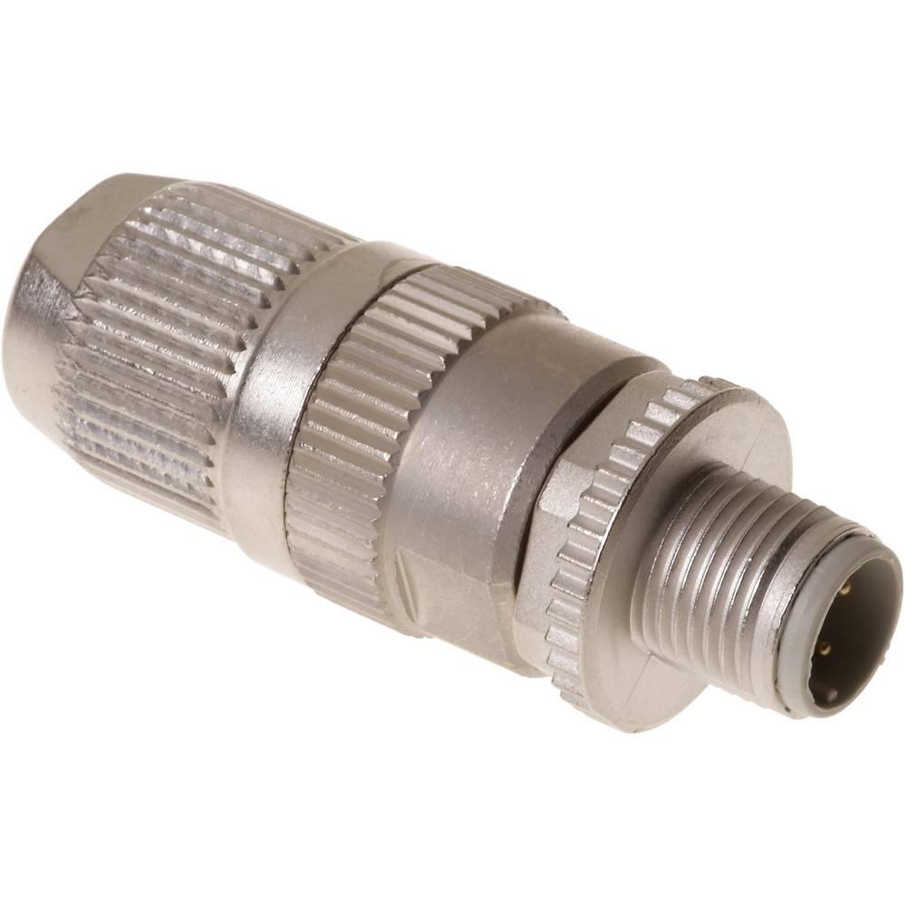 Okrogli vtični konektor, M12 s hitrim priklopom HARAX HARAX® M12-L Harting vsebuje: 1 kos