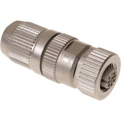 Sensor-, aktuator-stik, M12 Tilslutning, lige Pol-tal (RJ): 4 Harting 21 03 281 2405 HARAX® M12-L 1 stk