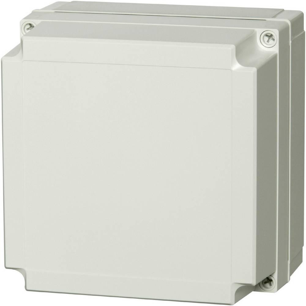 Kabinet til montering på væggen, Installationskabinet Fibox MNX PCM 125/60 G 130 x 130 x 60 Polycarbonat 1 stk